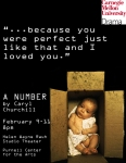 """Poster from """"A Number,"""" Created with Nicole Ogurek"""