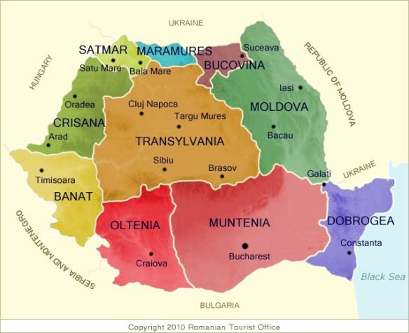 romania-regions